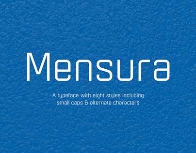 Mensura Font Family