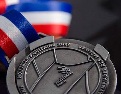 Medals Design - Olympiades des Métiers
