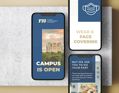 FIU Fall 2020 Back to School Collateral