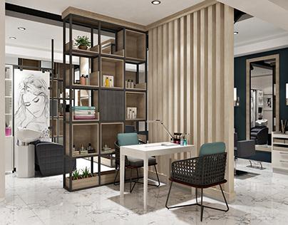 Beauty salon, Baku