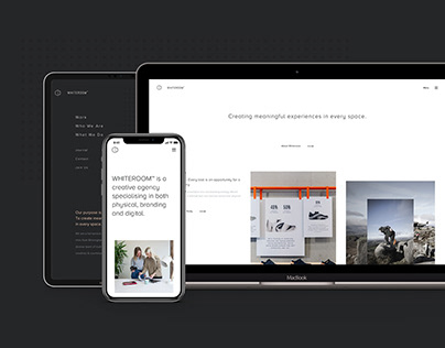 Whiteroom Agency Website