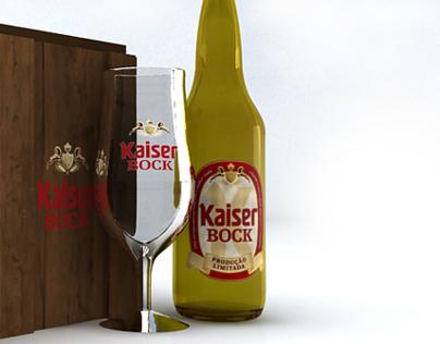 Embalagem Kaiser Bock