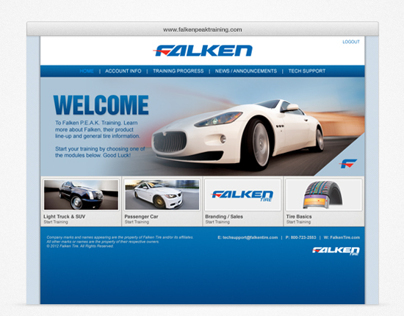 Falken Tire Training Program
