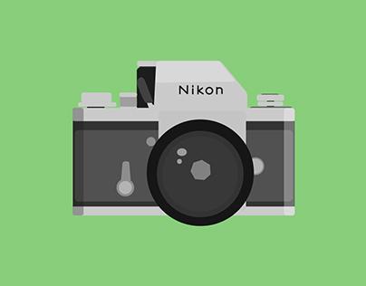 Nikon F motion