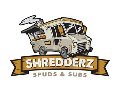 Shredderz Food Truck Logo