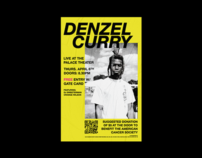 Denzel Curry @ The Palace Theater