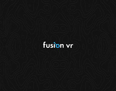 FUSION - VR Game Center Brand Identity