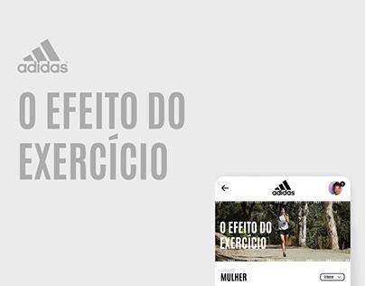 Conceito app Adidas