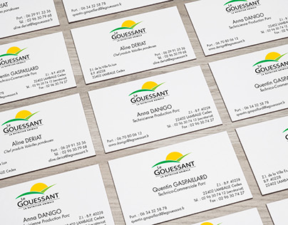 Le Gouessant business cards