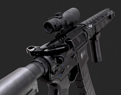[PERSONAL WORK] Custom AR-15