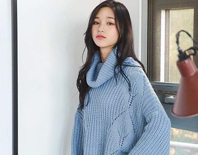 phong cách diện áo len cực chất cho các nàng
