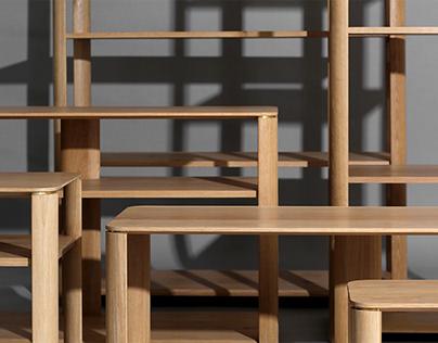 Oval Series. Storage furniture