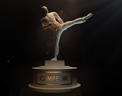 Arte Marcial Trofeo