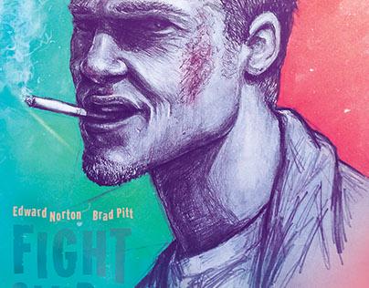 FIght Club Movie Poster