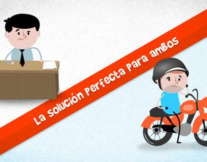 Tumotorizado : Animated Infographics