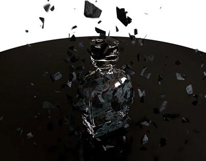 Particle 3d animation test