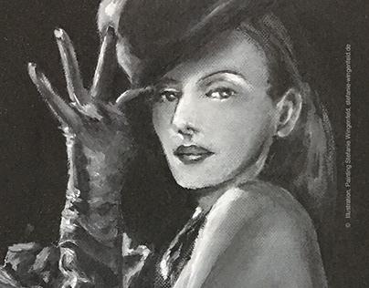 Cabaret / Oil-Painting