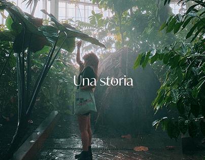 Una storia / Branding & UI design