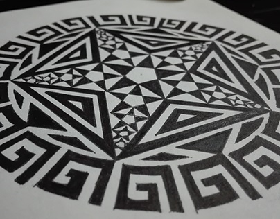 Case Study - Geometric Art #1