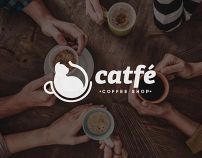 Catfé Coffee Shop Branding Design