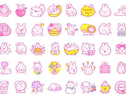Raberry LINE Stickers