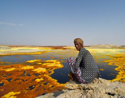 ETHIOPIA - Danakil depression - Dallol
