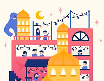 Uber #ridetoreconnect Ramadhan Campaign