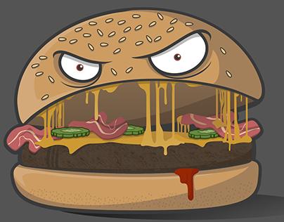 Burger Ilustration