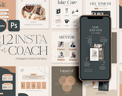 Instagram For eCourse | CANVA PS