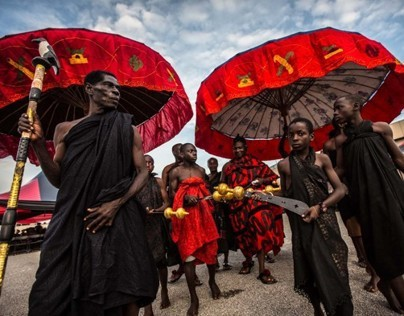 ashanti funeral in kumasi