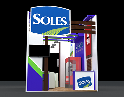 Exhibition Booth Stand // Soles 7x3