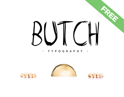 Butch [Free Marker Typeface]