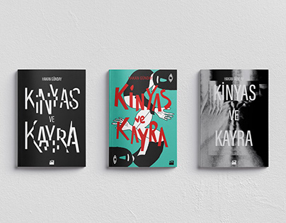 Kinyas ve Kayra Book Cover Design