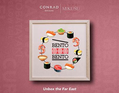 BENTO BENTO - CONRAD BENGALURU