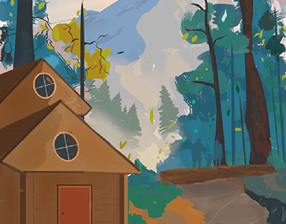 Boy and bear: various Illustrations