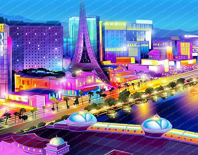"Online slot machine – ""Lucky Vegas"""