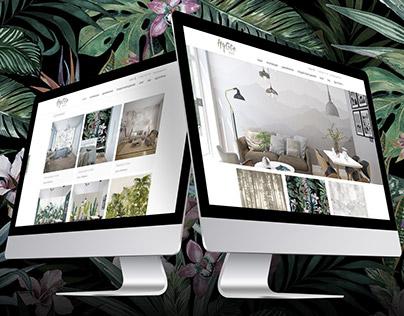 Интернет магазин дизайнерских обоев HyggeWall