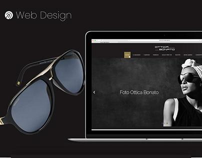 Sun Glasses eCommerce Landing page - WebDesign UI/UX