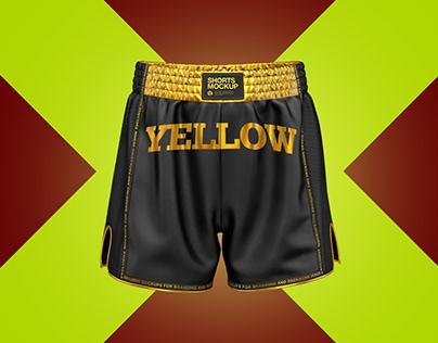 5 Shorts PSD Mockups
