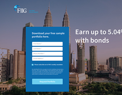 FIIG Landing Page
