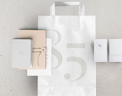 85° PARIS Logo + packaging design