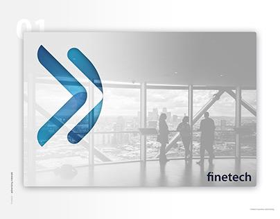 Finetech - finance branding