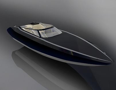 Superyacht Tender - Bluberry