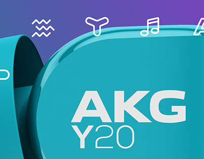 AKG Y20 / In-Ear Headphones