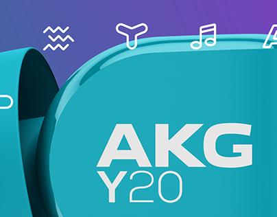 AKG Y20 / In-Ear Headphones