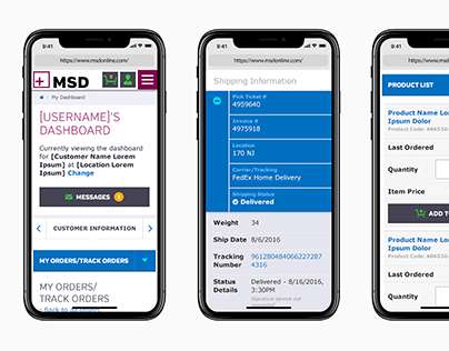 MSD Brand and Site Refresh