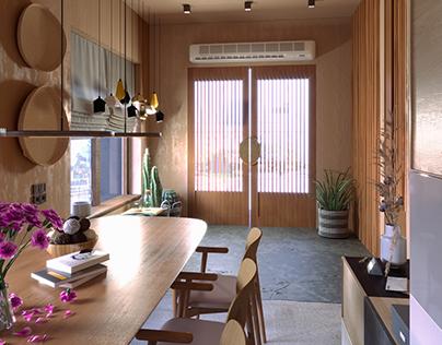 Design bureau interior