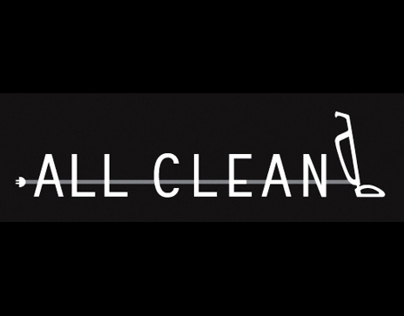 All Clean - Cleaning co. logo creation & business card