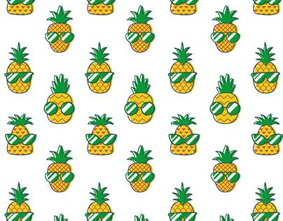 Stylish Pineapples