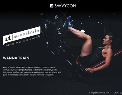 Wanna Train: Digital platform for Fitness Case Study